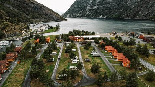 Camping Lærdalsfjorden