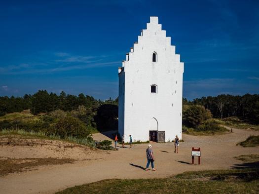 "Die ""Sandkirken"" in Skagen"