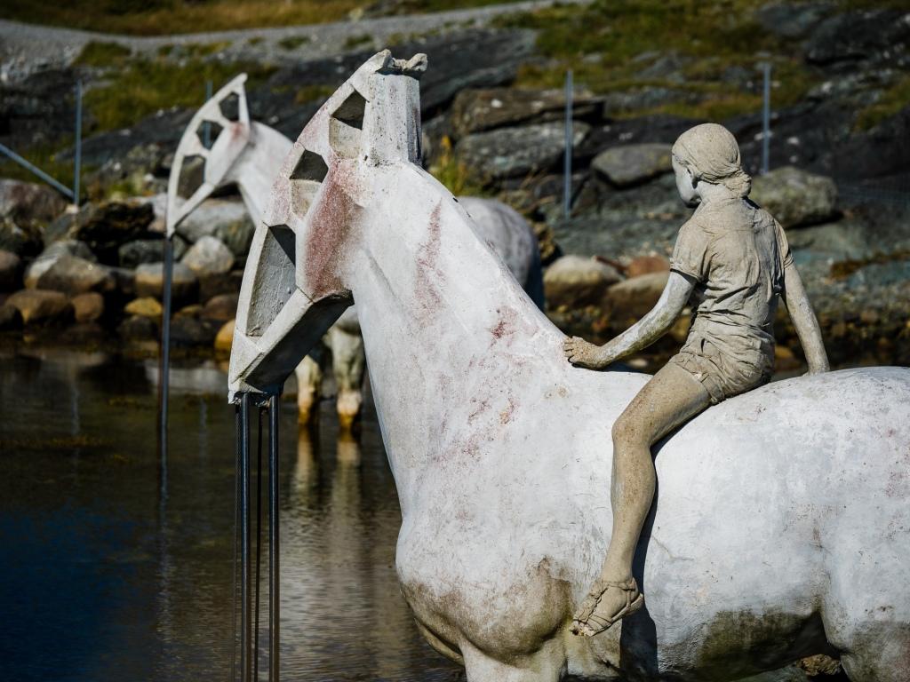 Skulpturenpark Kvalsvik