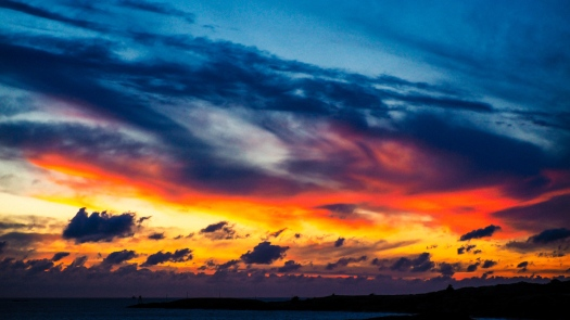 Sonnenuntergang Haraldshaugen