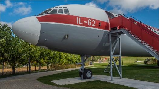 IL-62 Flugzeugnase