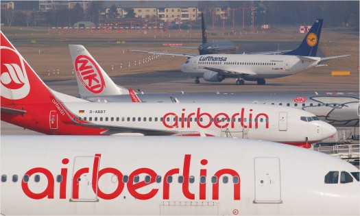 Airbus Air Berlin in Tegel