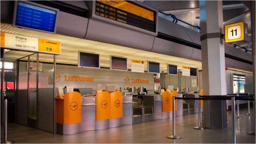 Lufthansa CheckIn Flughafen Tegel
