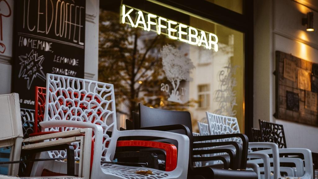 Kaffebar in Friedrichshain