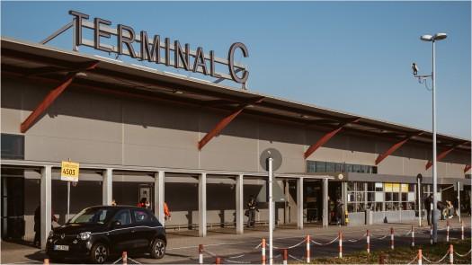 Terminal C am Flughafen Tegel
