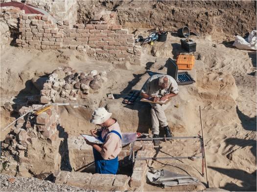 Ausgrabungen am Berliner Stadtschloss
