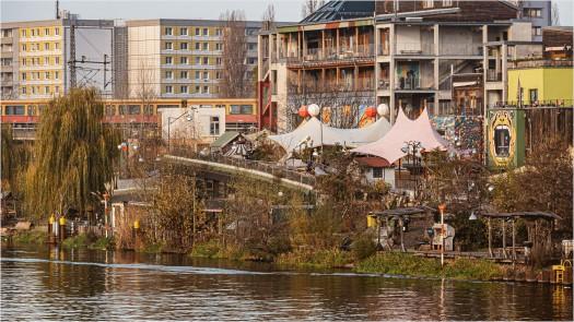 Holzmarktgelände in Friedrichshain