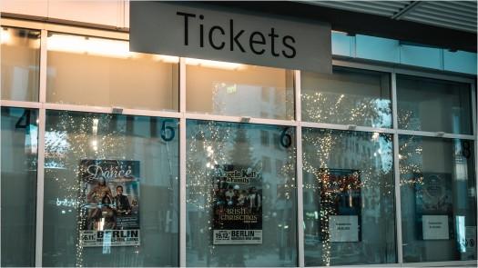 Ticketschalter an der MB Arena