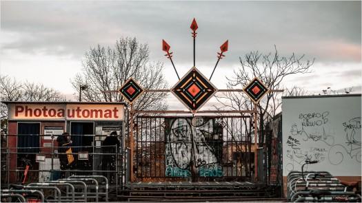 Suicide Circus am RAW Gelände