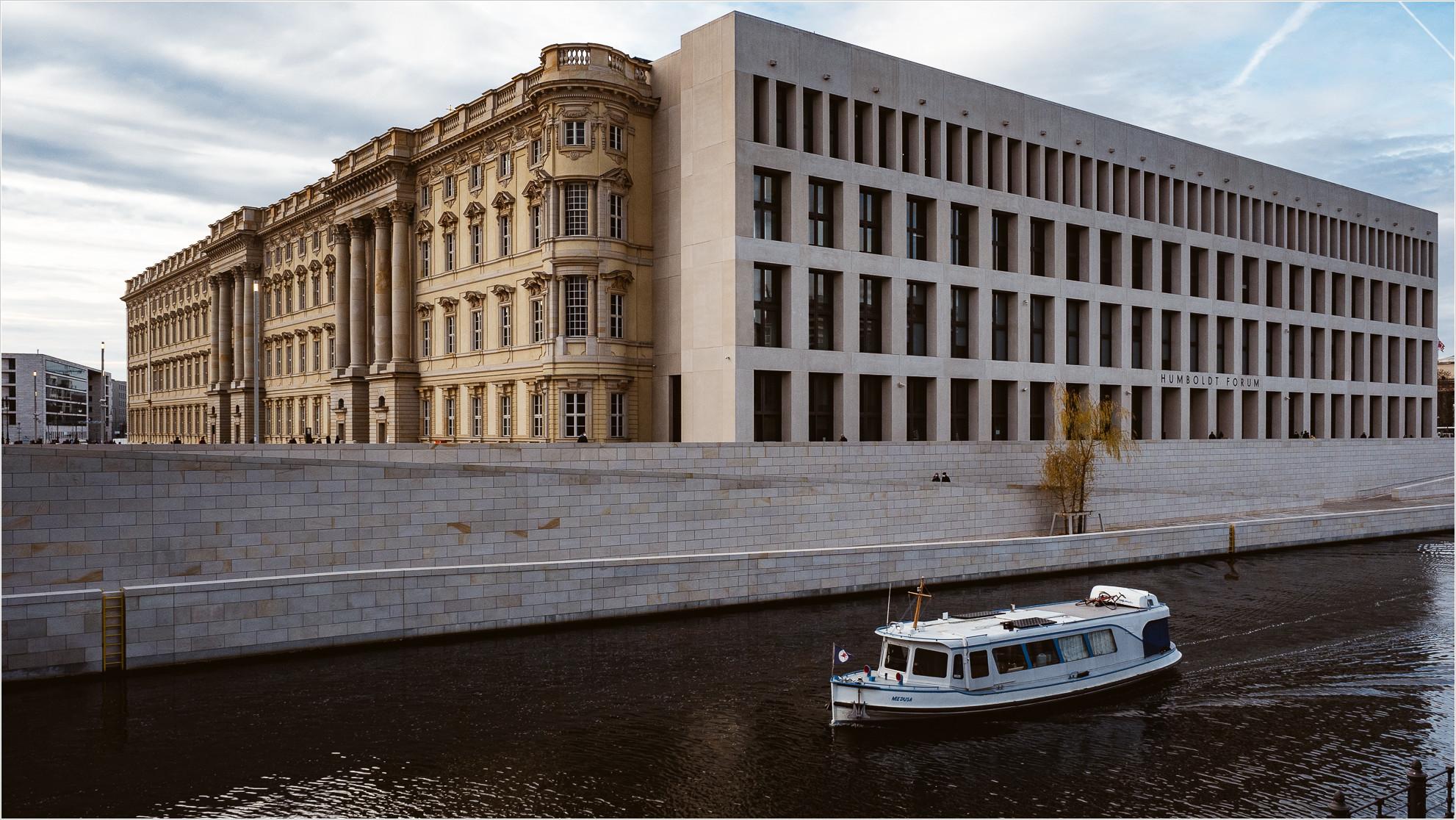 Humboldtforum Berlin - Spreeseite