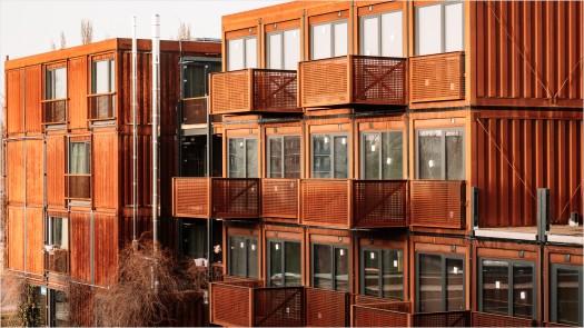 Wohncontainer für Studenten