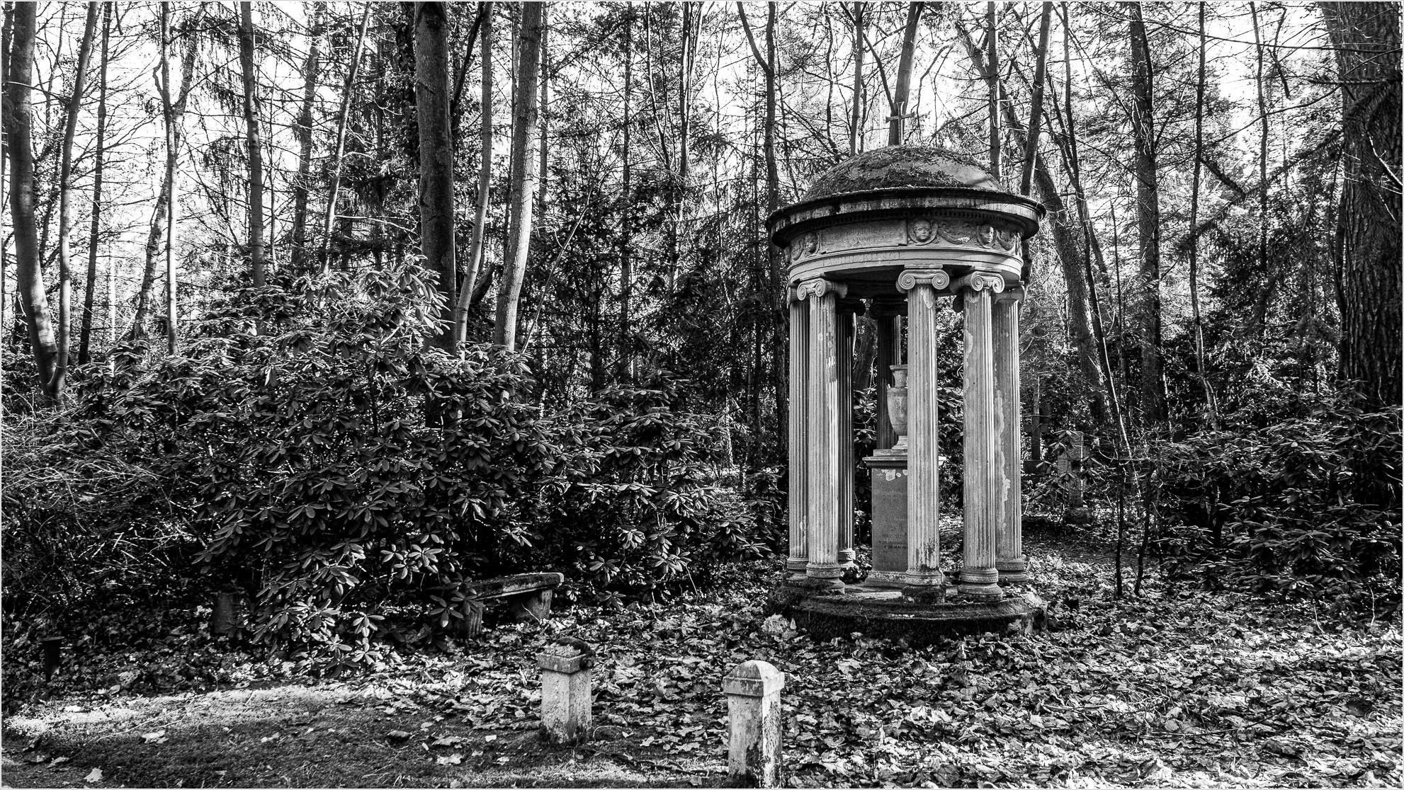 Grabstätte auf Berliner Friedhof