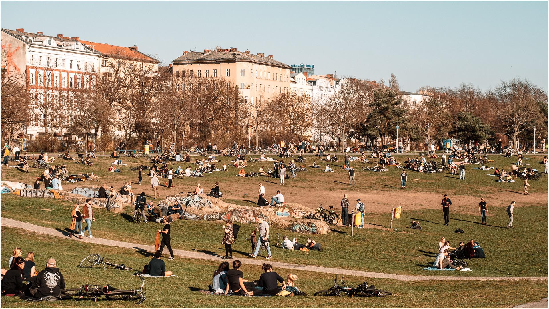 Görlitzer Park in Kreuzberg