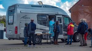 Corona Testmobil in Kappeln
