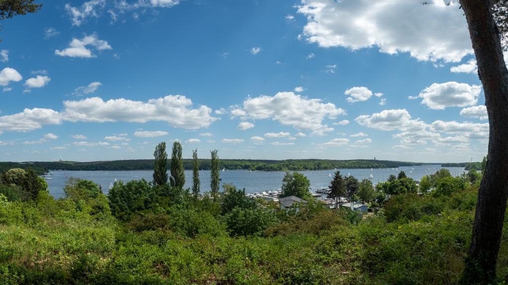Panoramablick von der Haveldüne