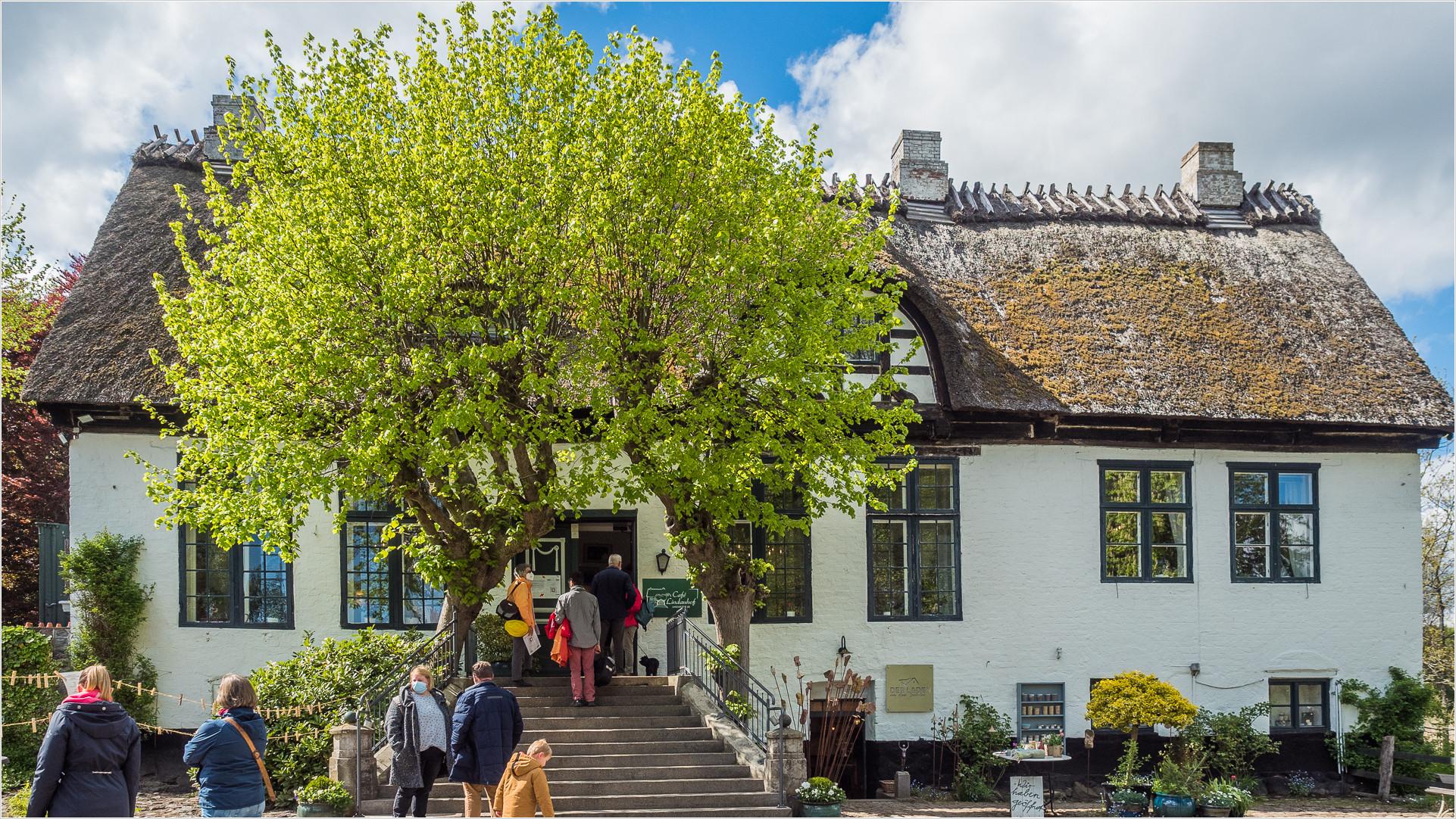 Das Cafe Lindauhof, früher Wohnort des Landarztes aus der gleichnameigen Serie