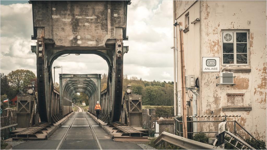 Lindaunisbrücke als DB Anlage
