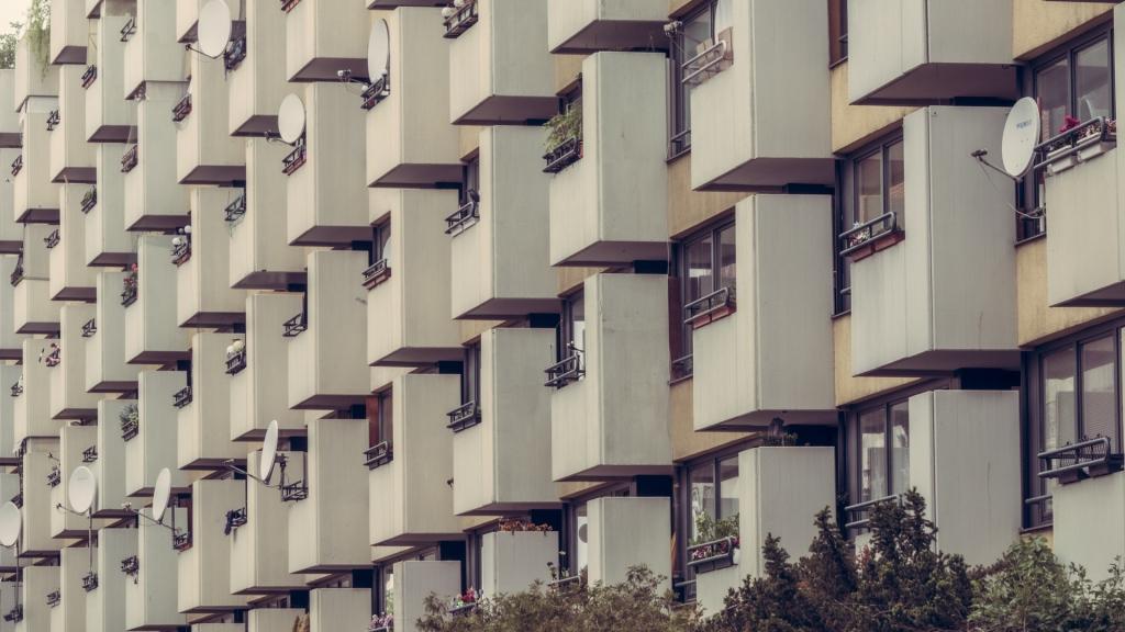 Wohnanlage in Berlin