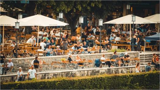 Der Biergarten Zenner in Treptow